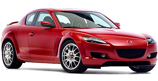2004 Mazda RX-8 на дисках 18 BBS RE