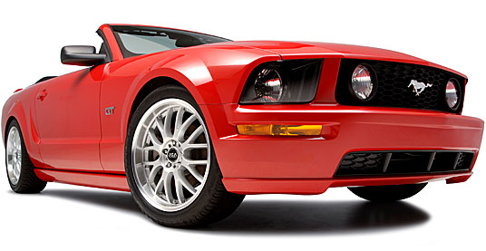 2005 Ford Mustang на дисках 19 ASA AR1