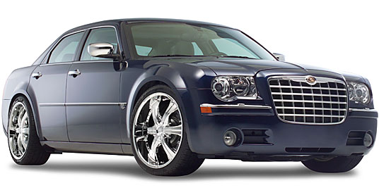 2006 Chrysler 300C на дисках 22 Zinik Z6