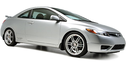 2006 Honda Civic Si на дисках 18 Kosei K1-TS