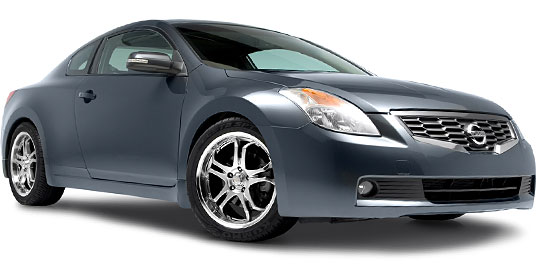 2008 Nissan Altima Coupe на дисках 18 Kazera KZ-L