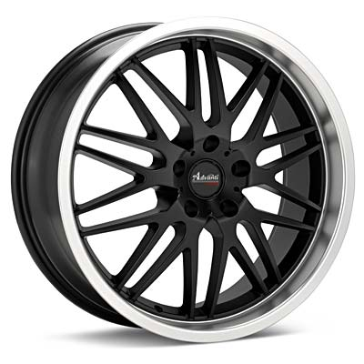 Автомобильные диски Advanti Racing A4 Kudos Black w/Mach Lip