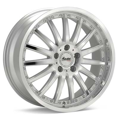 Автомобильные диски Advanti Racing A8 Afoso Silver Machined w/Clearcoat
