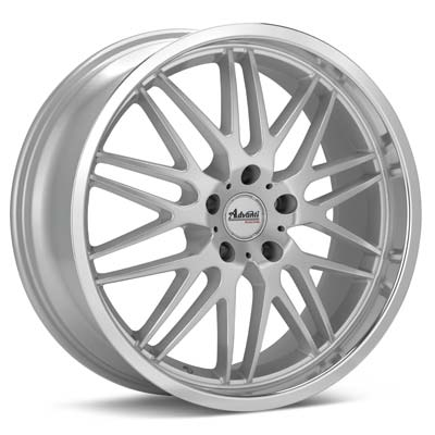 Автомобильные диски Advanti Racing A9 Costola Silver Machined w/Clearcoat
