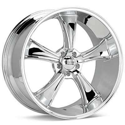 Автомобильные диски American Racing Authentic Hot Rod BLVD Chrome Plated
