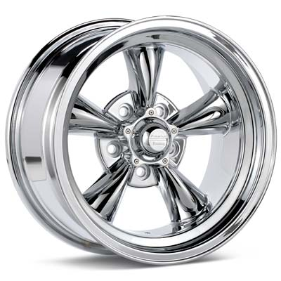 Автомобильные диски American Racing Authentic Hot Rod Torq-Thrust D Chrome Plated