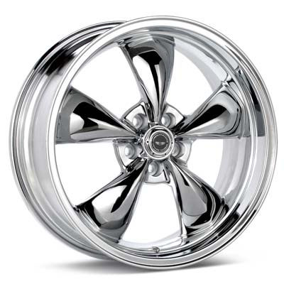 Автомобильные диски American Racing Authentic Hot Rod Torq-Thrust M Chrome Plated