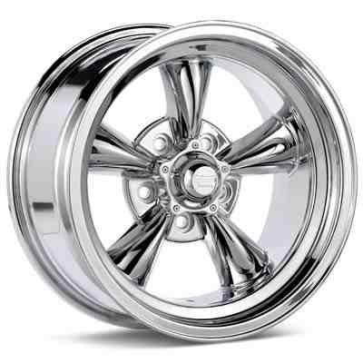 Автомобильные диски American Racing Authentic Hot Rod VN605 Torq-Thrust D Chrome Plated