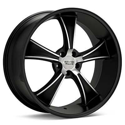 Автомобильные диски American Racing Authentic Hot Rod VN805 BLVD Machined w/Black Accent