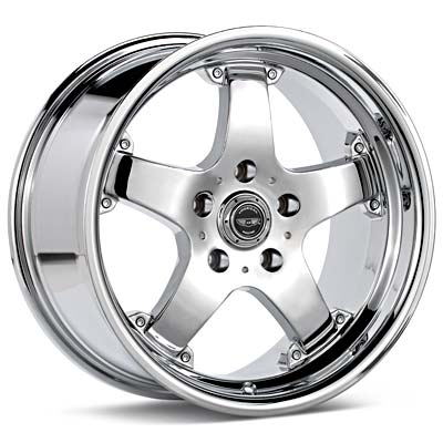 Автомобильные диски American Racing Muscle Rebel Chrome Plated