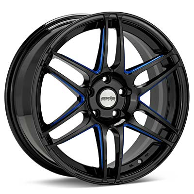 Автомобильные диски Axis Sport Xplode Black w/Blue Accent