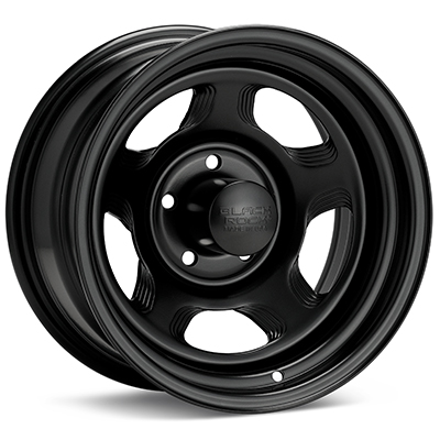 Автомобильные диски Black Rock 941 Dune Steel 15x8 Black Painted