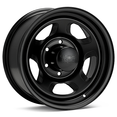 Автомобильные диски Black Rock 941 Dune Steel 16x8 Black Painted
