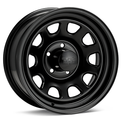 Автомобильные диски Black Rock 942 Type D Steel 15x7 Black Painted
