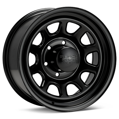 Автомобильные диски Black Rock 942 Type D Steel 16x8 Black Painted