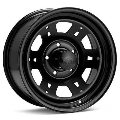 Автомобильные диски Black Rock 950 Lobo Steel 16x8 Black Painted