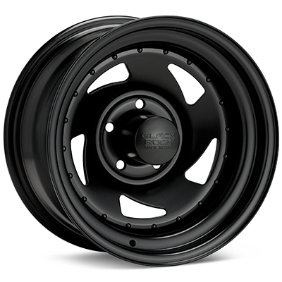Автомобильные диски Black Rock 975 Blade Steel 15x8 Black Painted