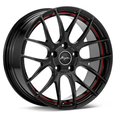 Автомобильные диски Breyton Race GTS-R Black w/Red Stripe