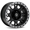 диски Granite Alloy GV8 Black w/Anthracite Lip