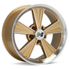 диски Hurst Dazzler 17x8 Machined w/Gold Accent