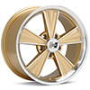 диски Hurst Dazzler 17x9 Machined w/Gold Accent