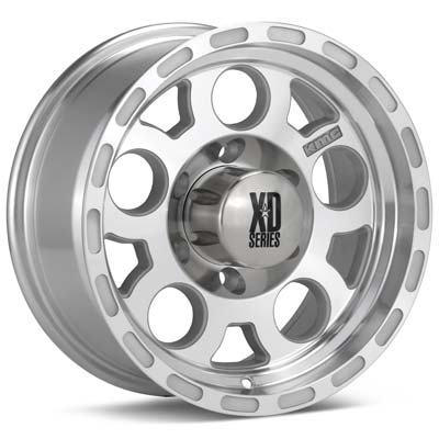 Автомобильные диски KMC XD Series Enduro Machined w/Anthracite Accent