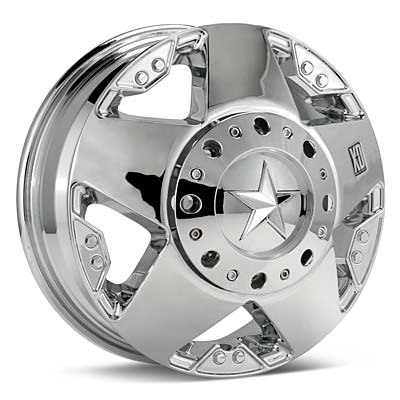 Автомобильные диски KMC XD Series Rockstar Dually Chrome Plated