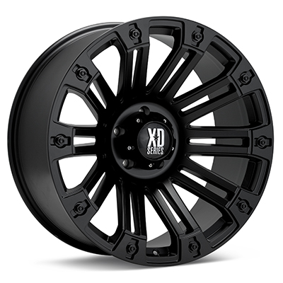 Автомобильные диски KMC XD Series XD810 Brigade Black Painted
