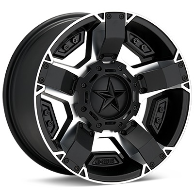 Автомобильные диски KMC XD Series XD811 Rockstar II Machined w/Satin Black Accent