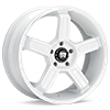 диски MOTEGI RACING MR122 White w/Mach Lip