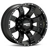 диски MOTO METAL MO968 Black Painted