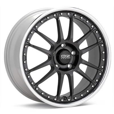 Автомобильные диски O.Z. Racing Tuner System Superleggera III Matte Graphite w/Polished Lip