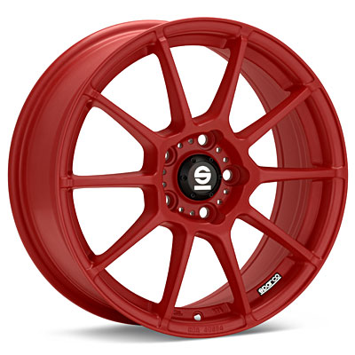 Автомобильные диски Sparco Assetto Gara Red Painted