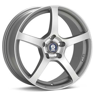Автомобильные диски Sparco RTT524 Machined w/Anthracite Accent