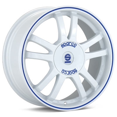 Автомобильные диски Sparco Rally White Painted