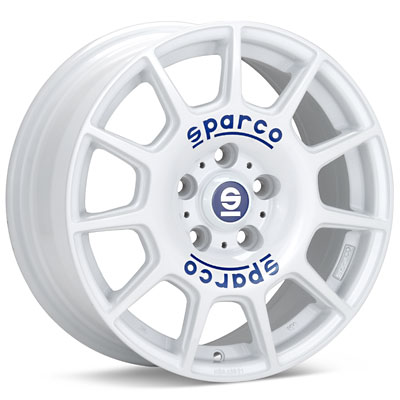 Автомобильные диски Sparco Terra White Painted