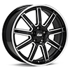 диски Sport Tuning T13 Machined w/Black Accent