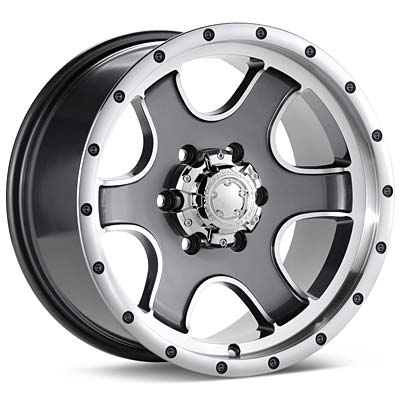 Автомобильные диски Ultra Rogue Machined w/Anthracite Accent