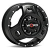 диски WORX 801 Triad Dually Black w/Spot Milling