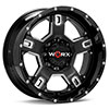 диски WORX 802 Havoc 8-Lug Black w/Milled Accent