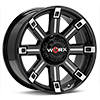 диски WORX 806 Triton Black w/Milled Accent