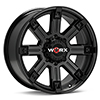 диски WORX 806 Triton 8-Lug Black Painted