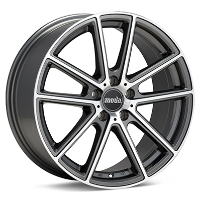 Автомобильные диски moda MD19 Machined w/Anthracite Accent